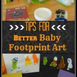 Tips for Better Baby Footprint Art