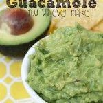 The Best Guacamole You Will Ever Make {aka Why We Get Invited to Parties}