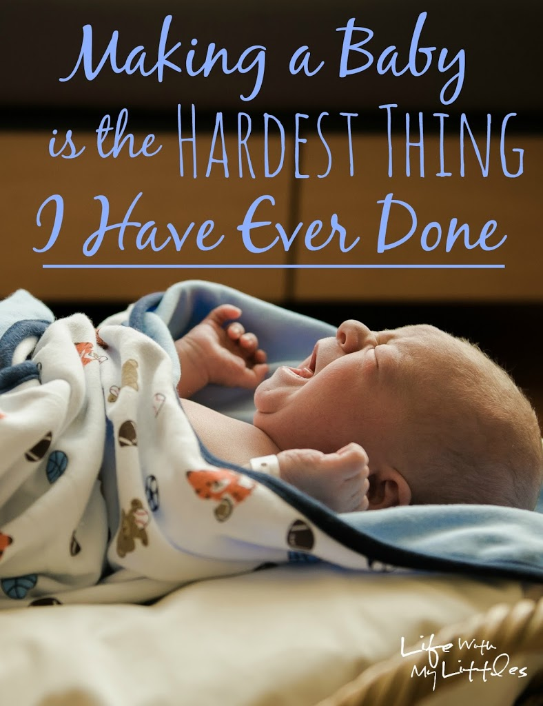 Making a Baby is the Hardest Thing I Have Ever Done: Our Struggle with Infertility