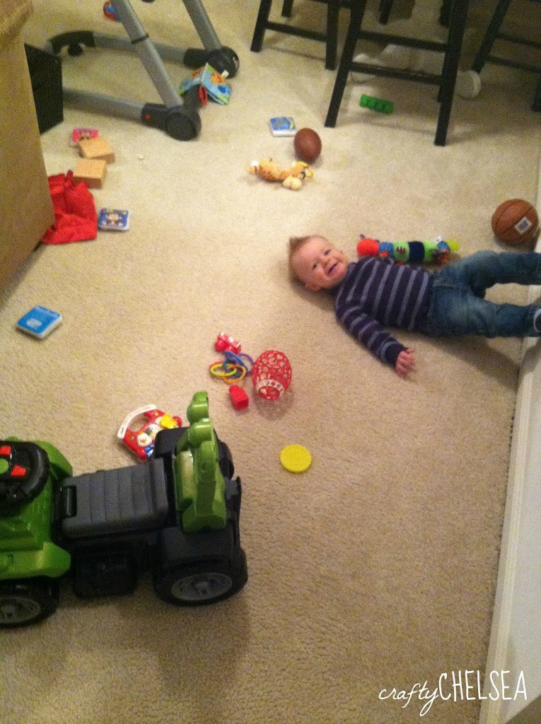 What I Learned in My Son's First Year: Tips to help you make it through your child's first year.