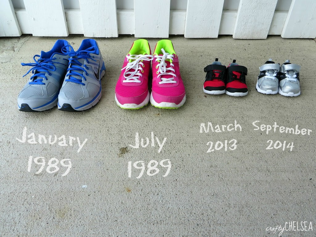 Cute and Easy Ways to Announce a Pregnancy: Some quick, simple picture ideas for pregnancy announcements that anyone can do!