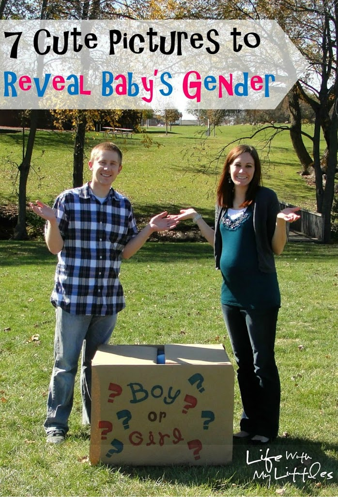 7 Cute Pictures to Reveal Baby's Gender