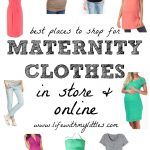 Best Places to Shop for Maternity Clothes (In Store and Online!)