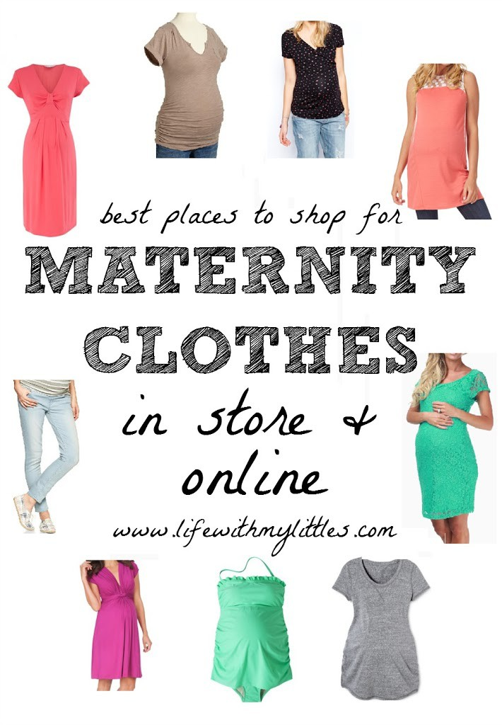 Who sells maternity clothes in store