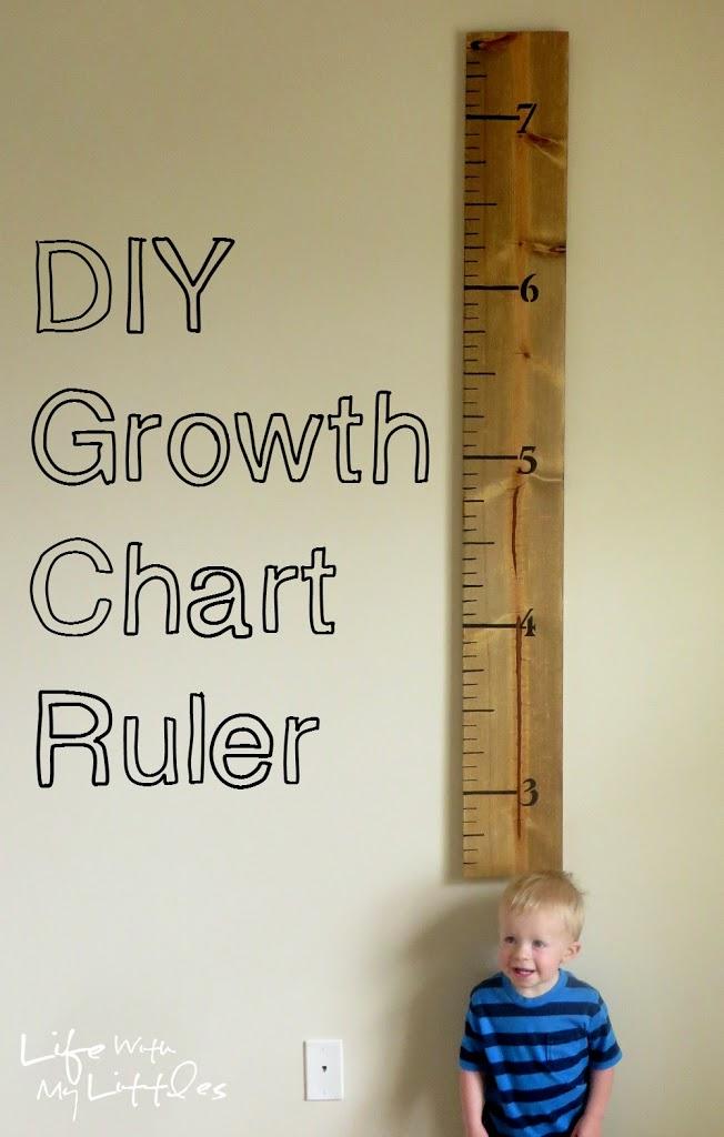 DIY Growth Chart Ruler