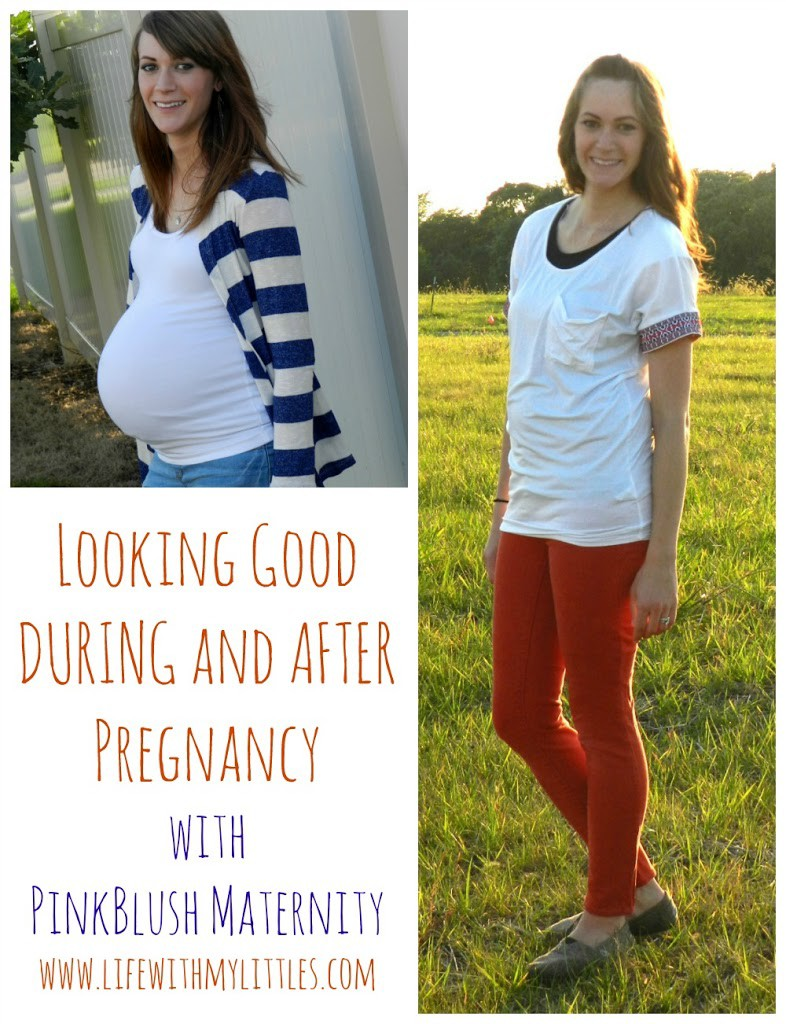 Looking Good During and After Pregnancy With Pink Blush Maternity: How to look good when you are pregnant and in that awkward stage after baby is born!