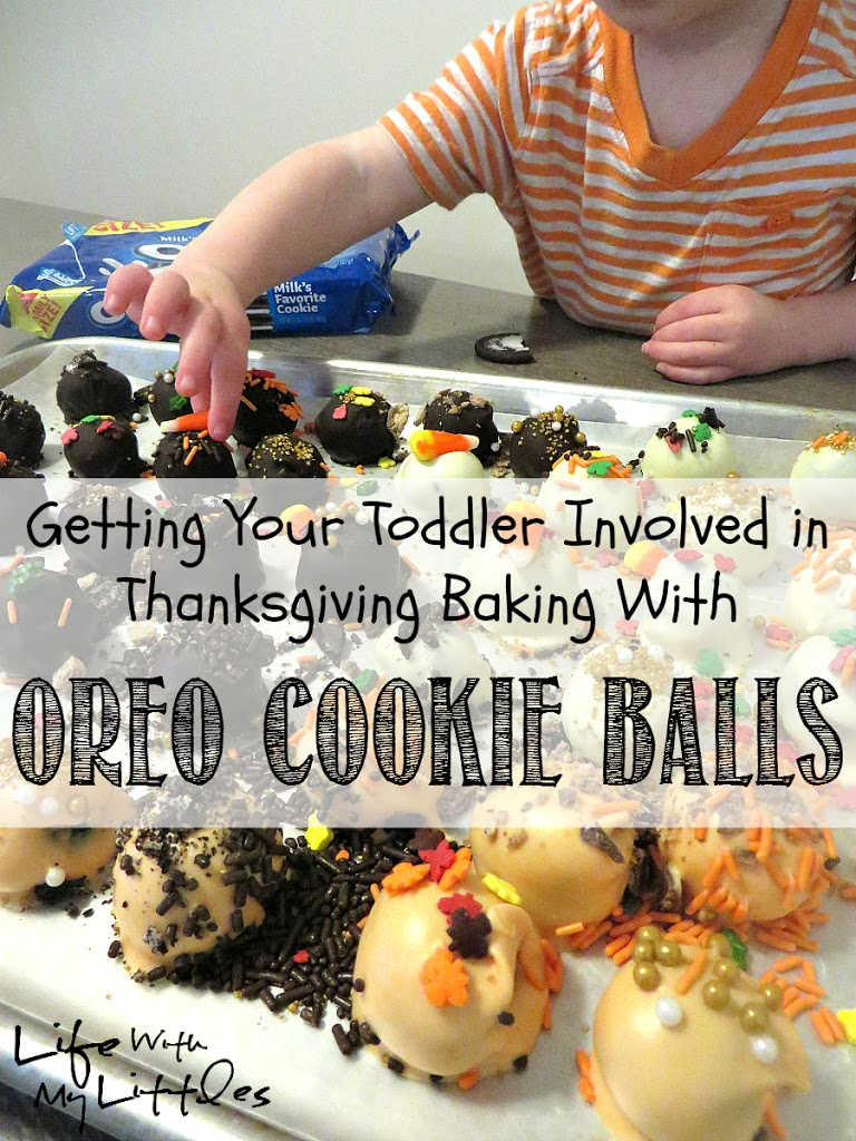 Getting Your Toddler Involved in Thanksgiving Baking