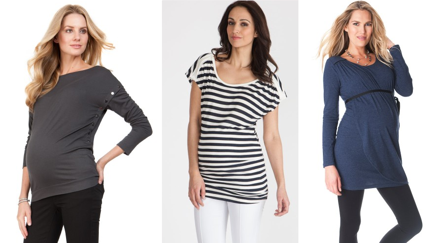 9 Reasons Why You Should Buy a Nursing Top: There are lots of cute styles of shirts made specially for breastfeeding, and here are 9 great reasons why you need at least one!