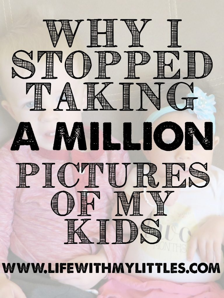 Some moments are just for you and you don't have to take pictures of everything your kids do!