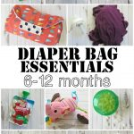 Diaper Bag Essentials: 6-12 Months
