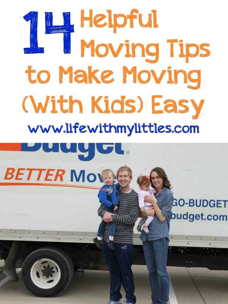 14 Helpful Moving Tips to Make Moving (with Kids) Easy