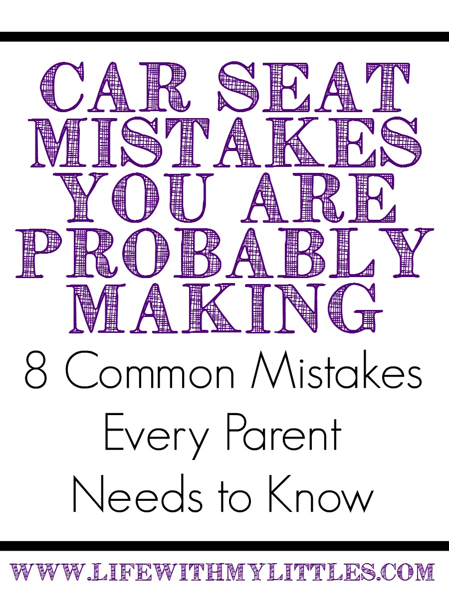 Cool Car Seat Mistakes You Are Probably Making
