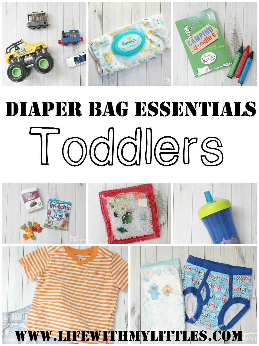 Diaper Bag Essentials: Toddlers