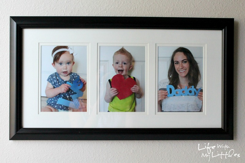 This easy and homemade Father's Day gift is the perfect and inexpensive gift for the father in your life. And it's fun to update the photos each year!
