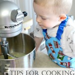 Tips for Cooking with a Toddler