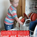How to Teach Your Toddler to Load and Unload the Dishwasher