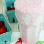 Fresh Raspberry Milkshake