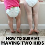 How to Survive Having Two Kids in Diapers