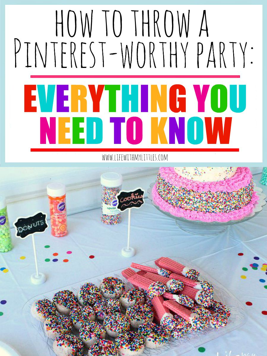 How to Throw a Pinterest-Worthy Party