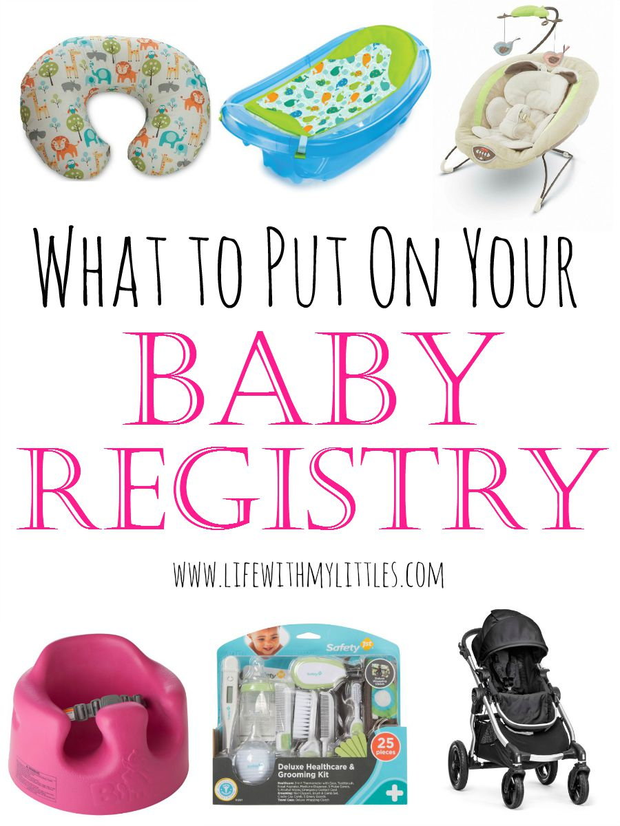 What to put on your baby registry: things you'll actually use, plus tips about the best way to register for your baby!
