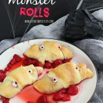 Raspberry Monster Rolls