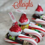 Candy Santa Hat Sleighs