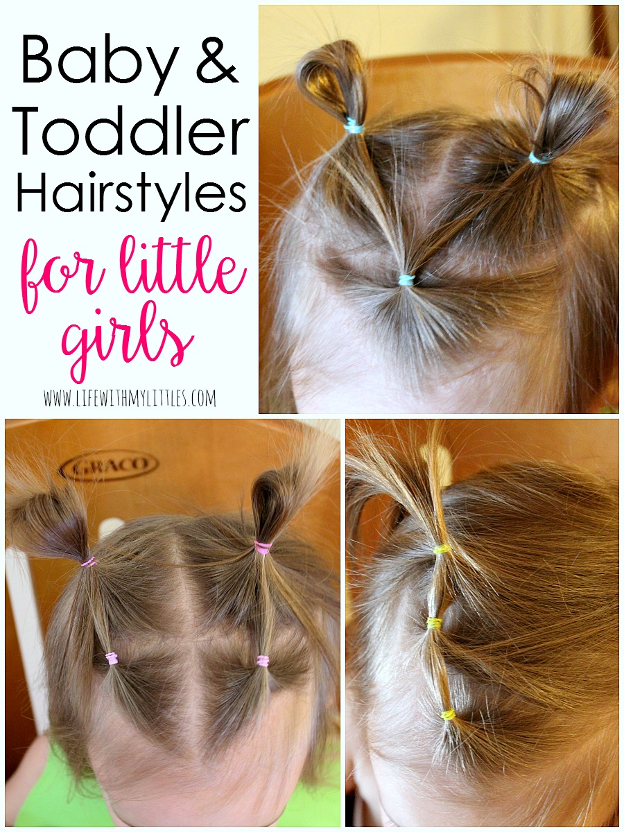 Astonishing Baby And Toddler Girl Hairstyles Life With My Littles Short Hairstyles For Black Women Fulllsitofus