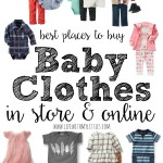 The Best Places to Buy Baby Clothes {In Store and Online}