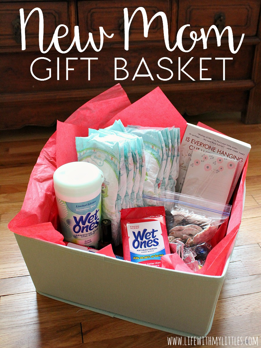 New mom gift basket life with my littles for A gift for a mom
