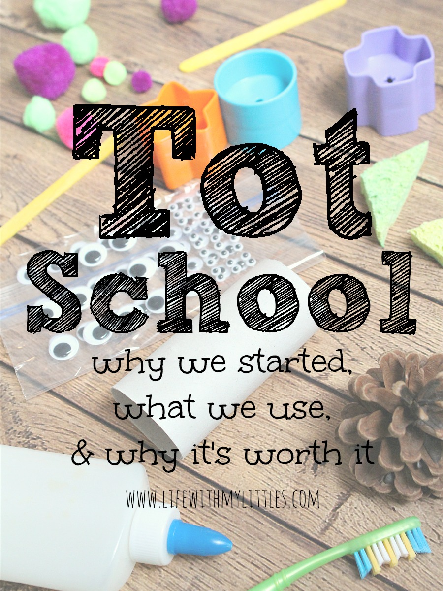 What is Tot School? An intro to the perfect pre-preschool and how it keeps moms and kids from being bored at home. Plus, a free printable weekly planning sheet!