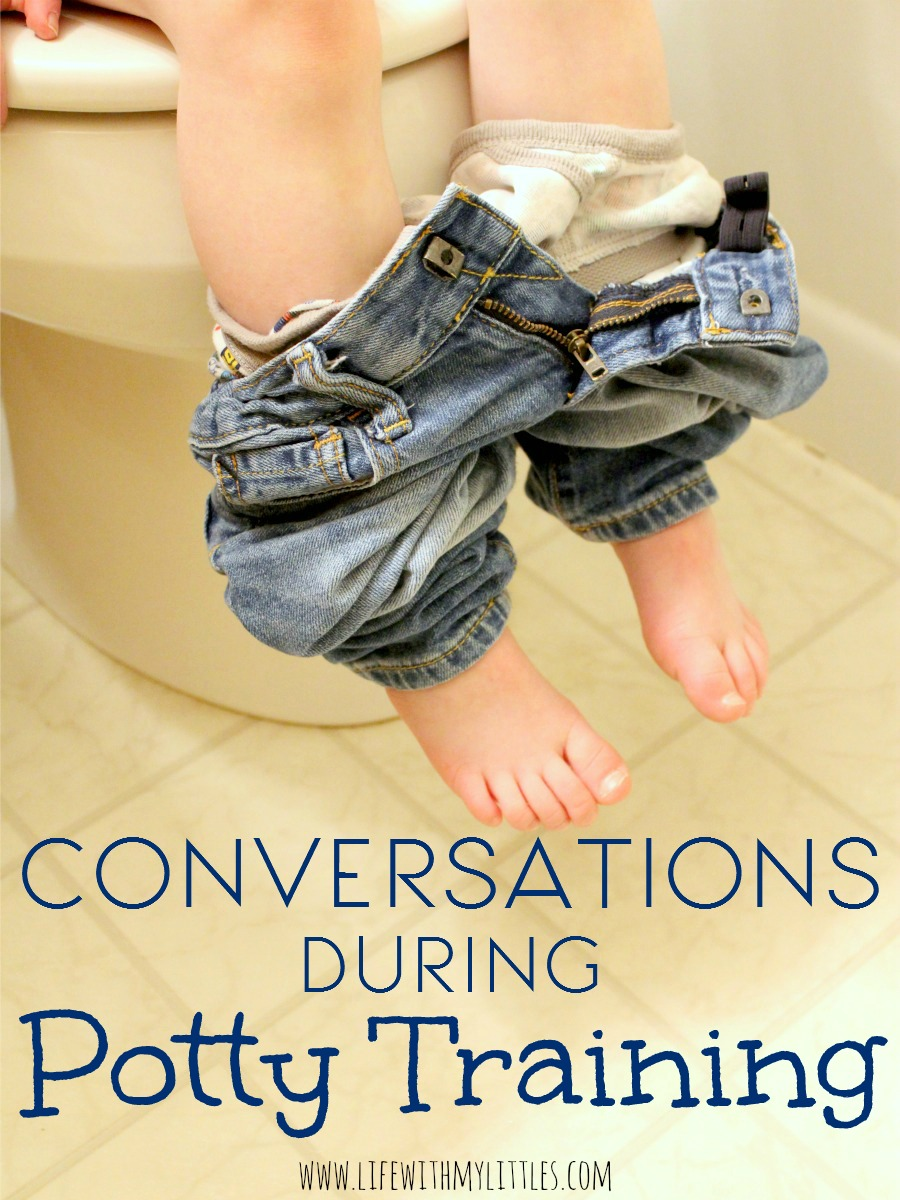 Conversations During Potty Training