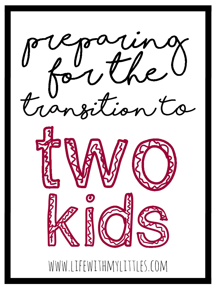 Preparing for the transition to two kids can be intimidating and stressful and frightening, but once it actually happens, you look back on all the time you spent worrying and realize that your second baby is just as incredible as your first.