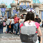 What to Pack in Your Diaper Bag for Disneyland