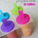 Fruit and Veggie Popsicles for Toddlers