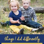 Things I Did Differently With My Second Baby