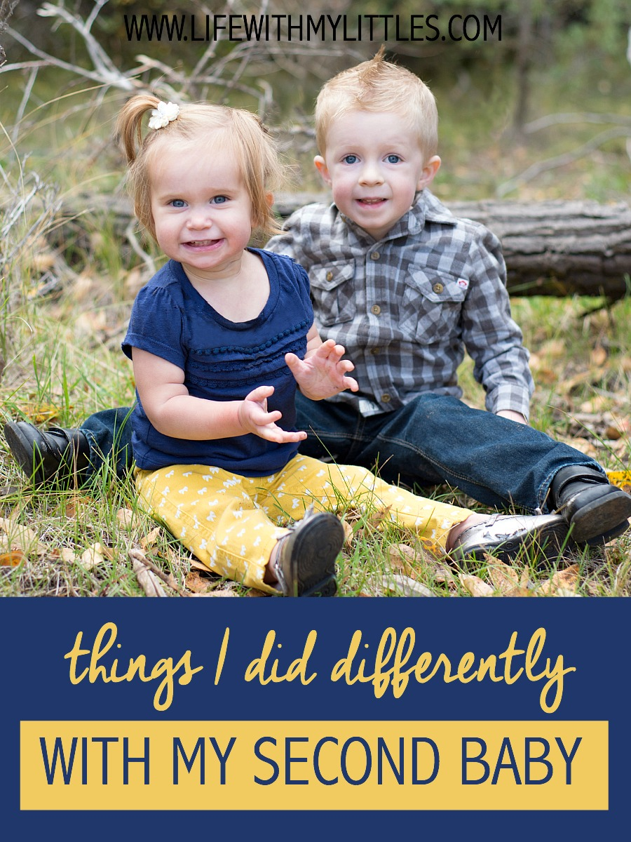 Here's a helpful list of things I did differently with my second baby. These are all great tips for new moms!