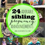 24 Adorable Sibling Pregnancy Announcements