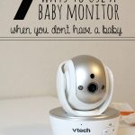7 Ways to Use a Baby Monitor
