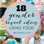 18 Gender Reveal Ideas Using Food