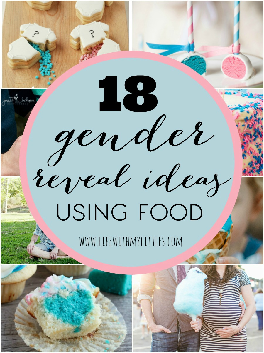 Food Ideas For Baby Gender Reveal Party