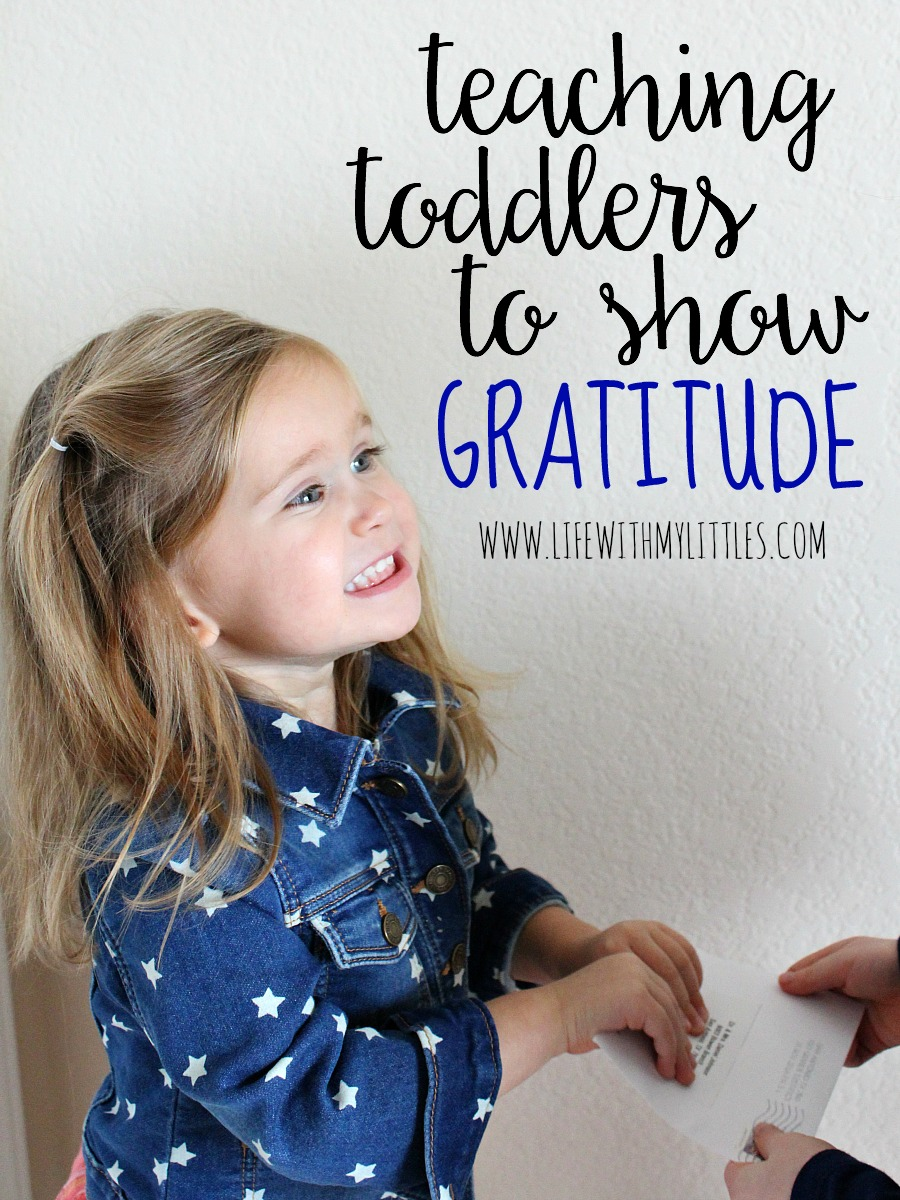 Teaching toddlers to show gratitude doesn't have to be hard. Here are 10 ideas how you can serve together and #LIGHTtheWORLD.