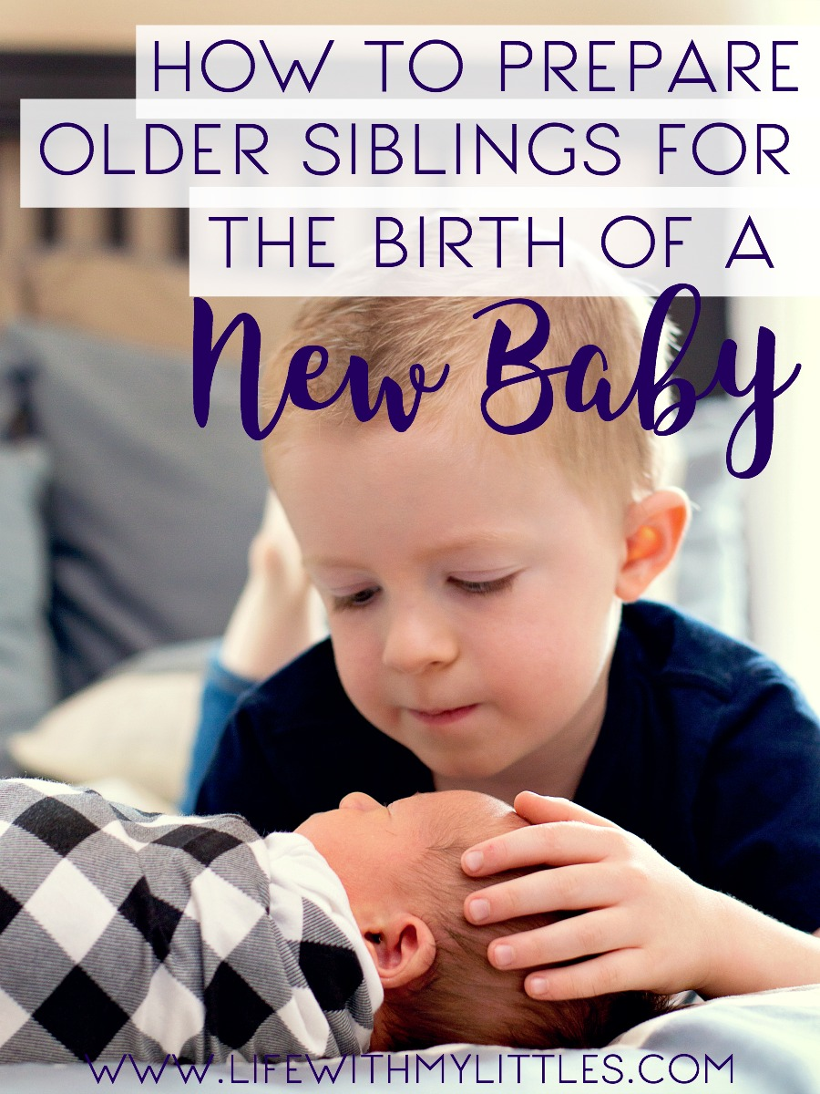 How to Prepare Older Siblings for the Birth of a Baby