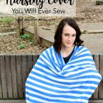The Best (and Easiest) Nursing Cover You Will Ever Sew