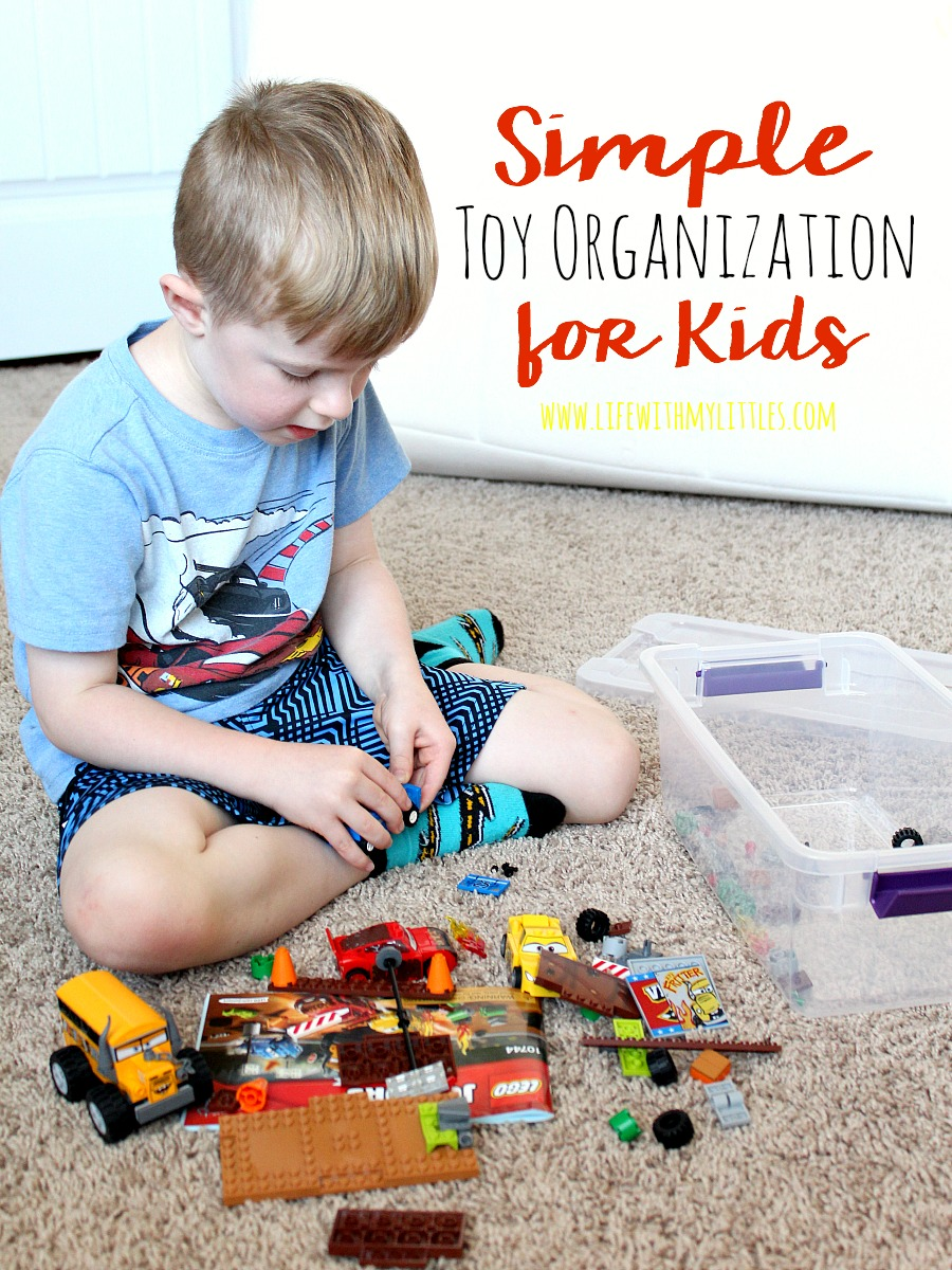 Simple Toy Organization for Kids