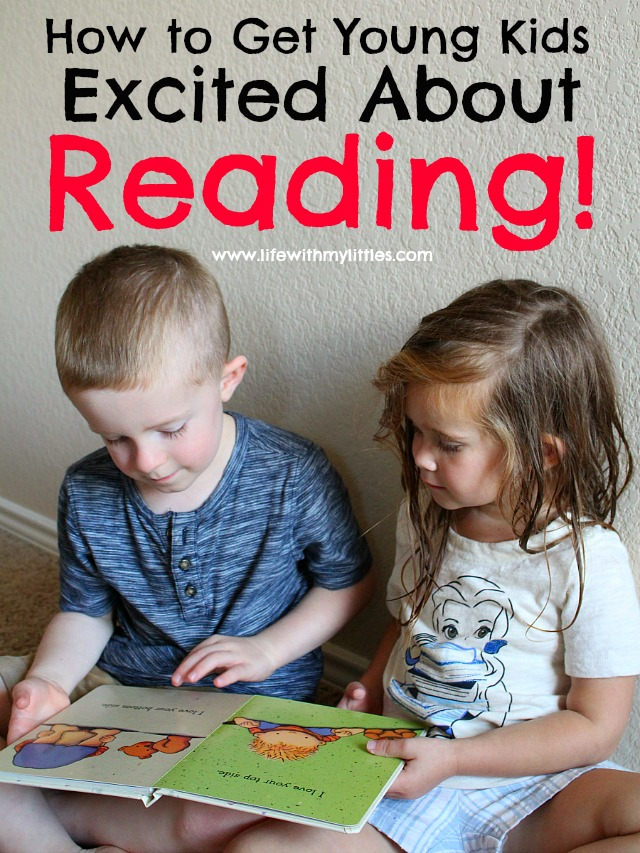 How to Get Young Kids Excited About Reading