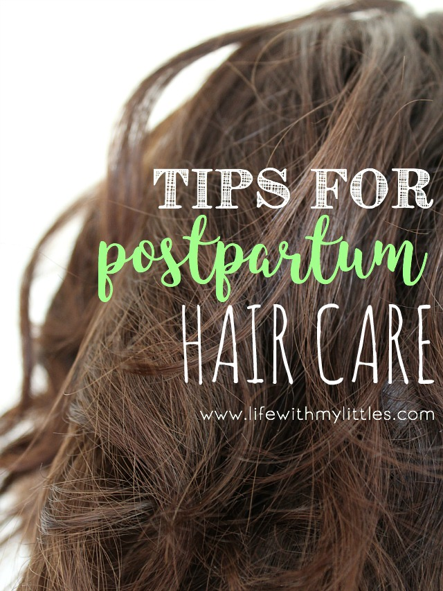Postpartum Hair Care