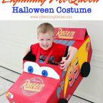 DIY Lightning McQueen Costume