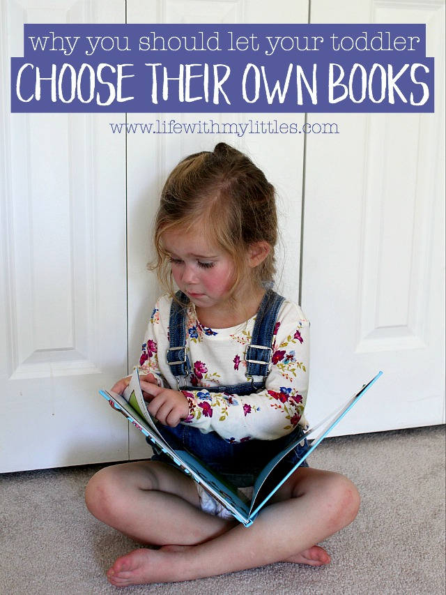 Why you should let your toddler choose their own books and how to get free books this summer! Love this post! It's so true!