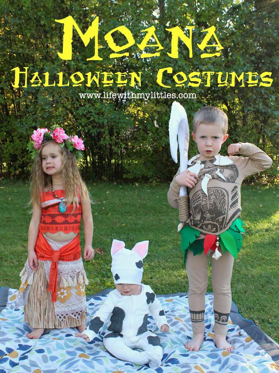 DIY Moana Family Halloween Costumes