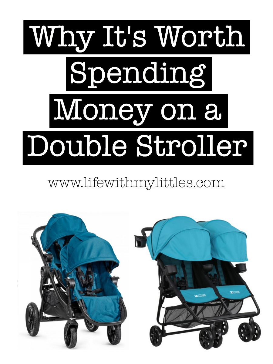 Why It's Worth Spending Money on a Good Double Stroller